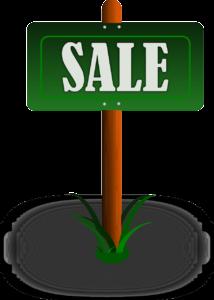 Yard Sale Sign Clipart